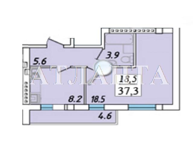 Продается 1-комнатная квартира на ул. Пригородская — 33 000 у.е. (фото №9)