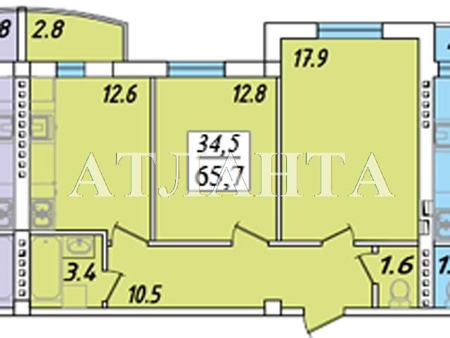 Продается 2-комнатная квартира на ул. Пригородская — 32 000 у.е. (фото №3)