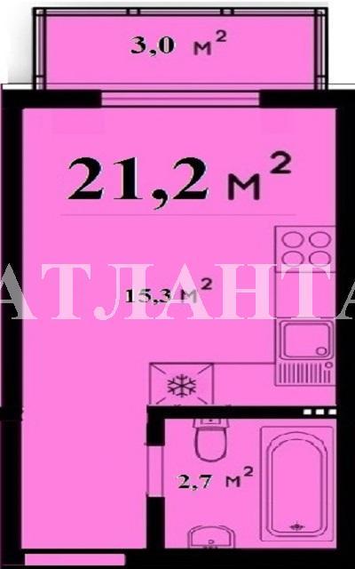 Продается 1-комнатная квартира в новострое на ул. Либкнехта Карла — 18 000 у.е. (фото №3)