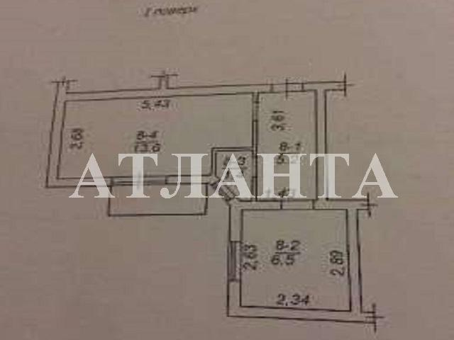 Продается 1-комнатная квартира на ул. Дача Ковалевского — 19 000 у.е.