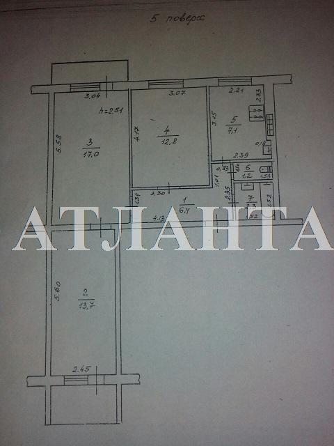 Продается 3-комнатная квартира на ул. Маршала Жукова — 45 000 у.е. (фото №18)