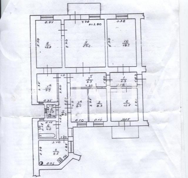 Продается 7-комнатная квартира на ул. Осипова — 120 000 у.е. (фото №14)