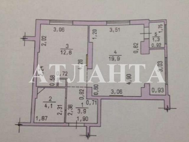 Продается 1-комнатная квартира в новострое на ул. Радужный М-Н — 58 000 у.е. (фото №12)