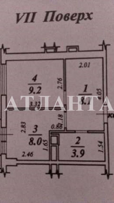 Продается 1-комнатная квартира на ул. Жемчужная — 38 000 у.е. (фото №13)
