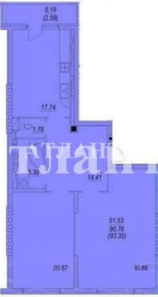 Продается 2-комнатная квартира на ул. Бреуса — 70 000 у.е. (фото №2)