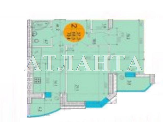 Продается 2-комнатная квартира на ул. Маршала Говорова — 72 000 у.е. (фото №2)