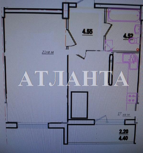 Продается 1-комнатная квартира в новострое на ул. Радужный М-Н — 55 000 у.е. (фото №9)