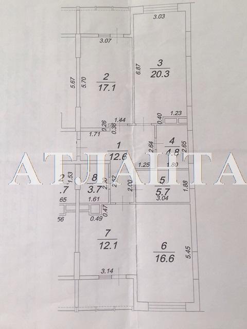 Продается 3-комнатная квартира на ул. Жемчужная — 123 000 у.е. (фото №23)