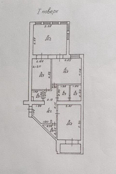 Продается 3-комнатная квартира на ул. Проспект Шевченко — 155 000 у.е. (фото №10)