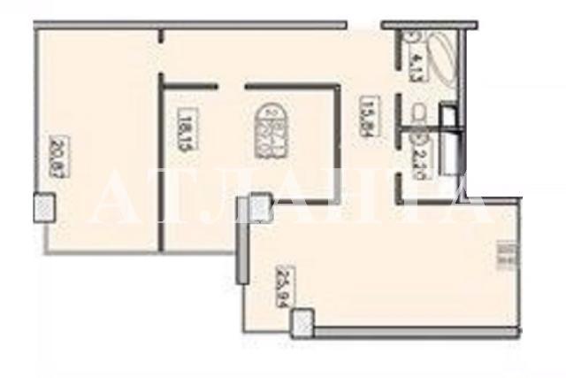 Продается 2-комнатная квартира в новострое на ул. Французский Бул. — 125 000 у.е. (фото №5)