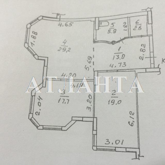 Продается 2-комнатная квартира на ул. Среднефонтанская — 115 000 у.е. (фото №7)