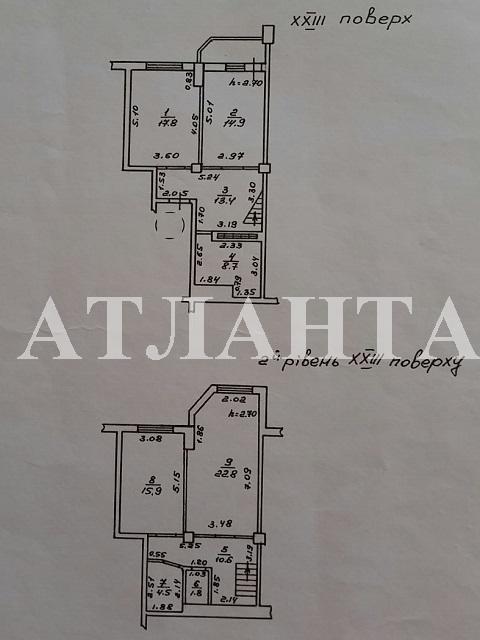 Продается 3-комнатная квартира на ул. Академика Глушко — 107 000 у.е. (фото №26)