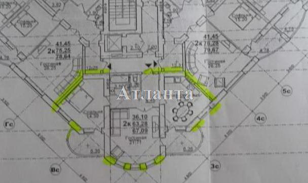 Продается 2-комнатная квартира в новострое на ул. Щепной Пер. — 75 000 у.е. (фото №2)