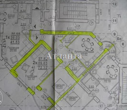 Продается 2-комнатная квартира в новострое на ул. Щепной Пер. — 75 000 у.е. (фото №3)