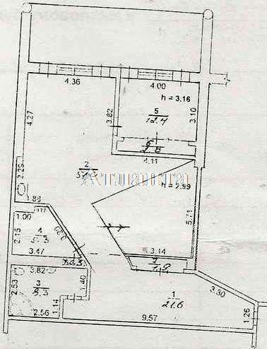 Продается 3-комнатная квартира на ул. Гагаринское Плато — 152 000 у.е. (фото №15)