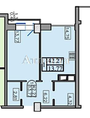 Продается 1-комнатная квартира на ул. Французский Бул. — 85 000 у.е. (фото №2)