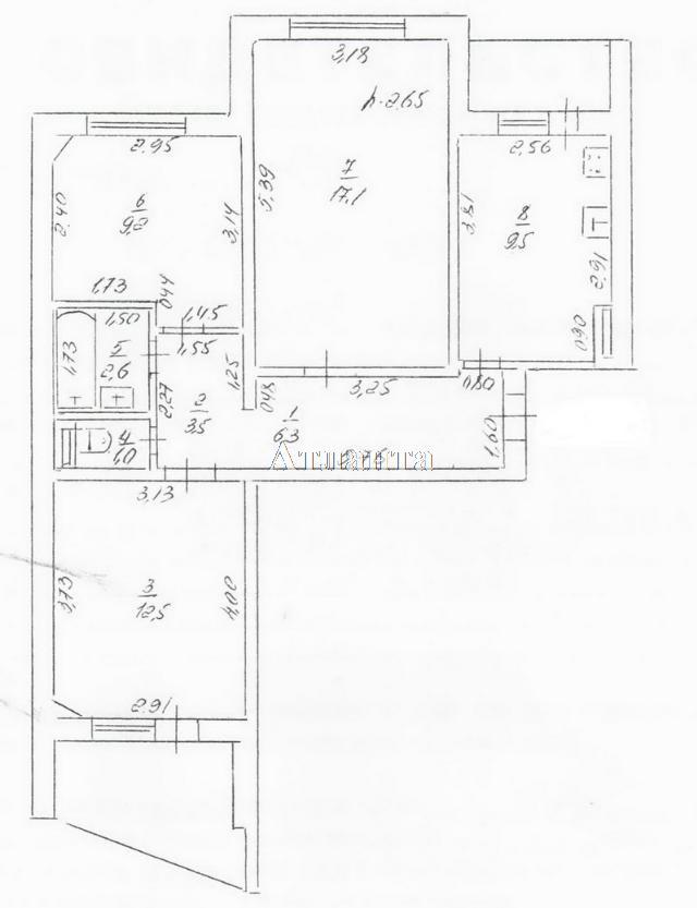 Продается 3-комнатная квартира на ул. Маршала Жукова — 55 000 у.е. (фото №19)