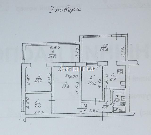 Продается 4-комнатная квартира на ул. Филатова Ак. — 82 000 у.е. (фото №7)