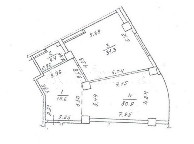 Продается 2-комнатная квартира в новострое на ул. Генуэзская — 90 000 у.е. (фото №3)