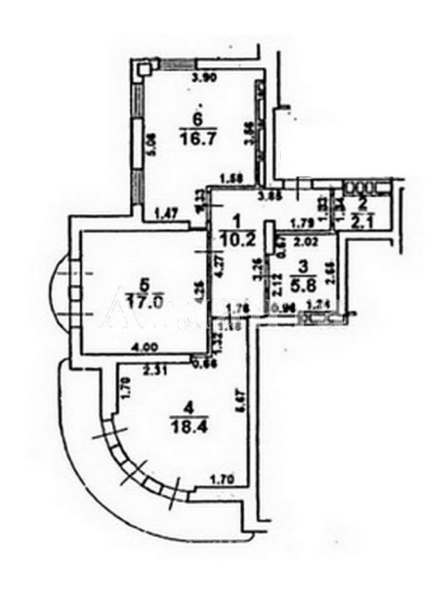 Продается 2-комнатная квартира в новострое на ул. Сабанский Пер. — 170 000 у.е. (фото №2)
