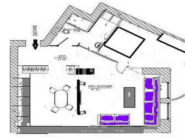 Продается 3-комнатная квартира в новострое на ул. Лидерсовский Бул. — 295 000 у.е. (фото №9)