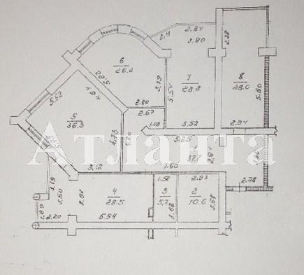 Продается 4-комнатная квартира в новострое на ул. Кирпичный Пер. — 290 000 у.е. (фото №2)