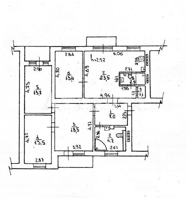 Продается 4-комнатная квартира на ул. Ботанический Пер. — 120 000 у.е. (фото №11)
