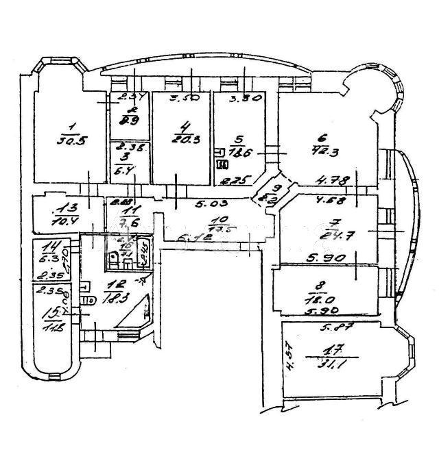 Продается 5-комнатная квартира на ул. Дерибасовская — 1 000 000 у.е. (фото №4)