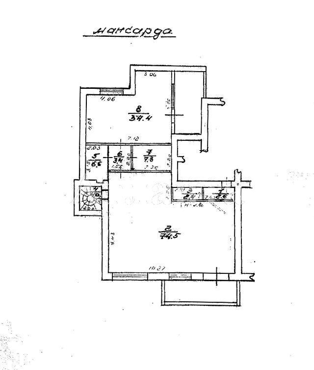 Продается 4-комнатная квартира на ул. Дунаева Пер. — 400 000 у.е. (фото №19)