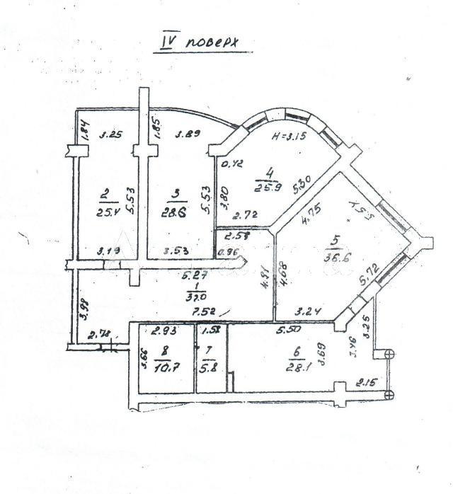 Продается 4-комнатная квартира в новострое на ул. Кирпичный Пер. — 475 000 у.е. (фото №5)