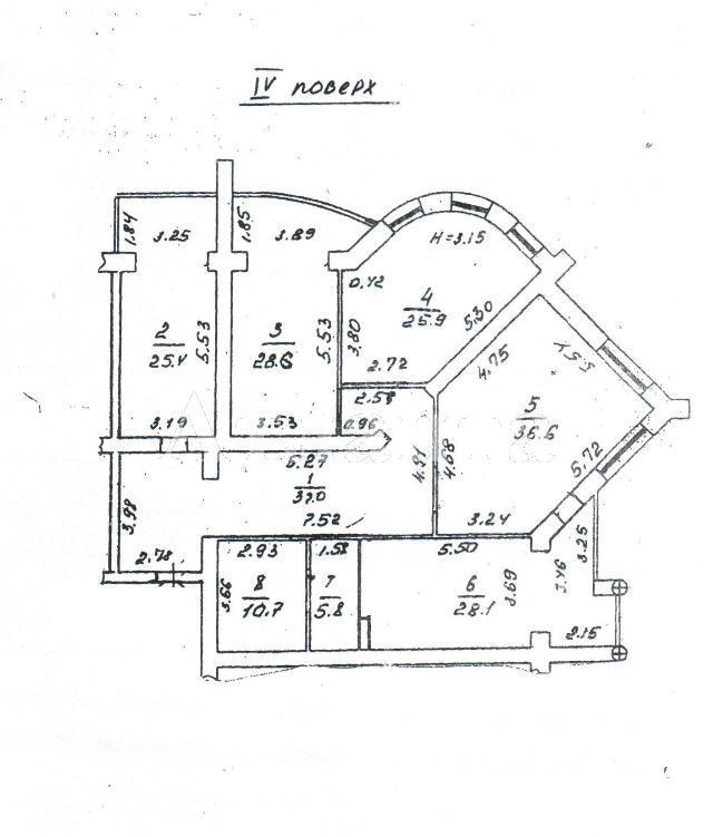 Продается 3-комнатная квартира в новострое на ул. Кирпичный Пер. — 390 000 у.е. (фото №5)