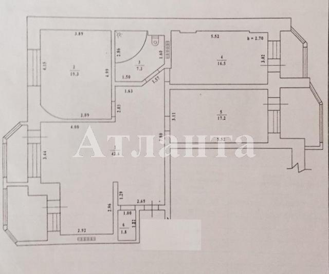 Продается 3-комнатная квартира на ул. Бреуса — 117 000 у.е. (фото №6)
