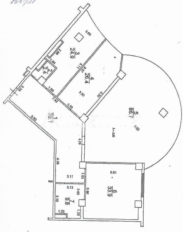 Продается 3-комнатная квартира в новострое на ул. Генуэзская — 200 000 у.е. (фото №3)