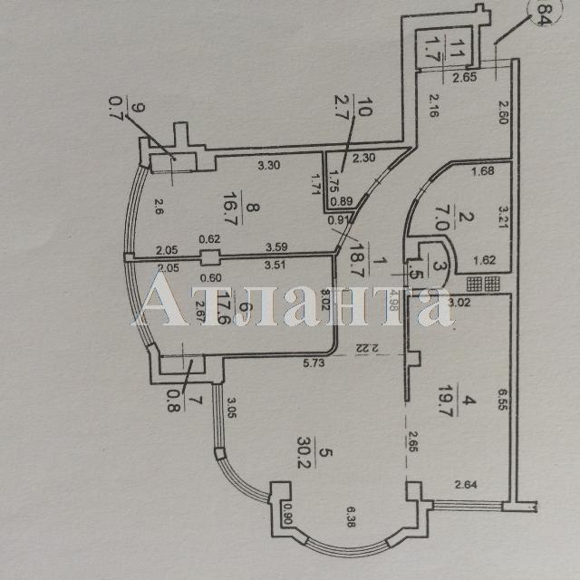Продается 3-комнатная квартира в новострое на ул. Французский Бул. — 208 000 у.е. (фото №10)