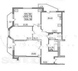 Продается 3-комнатная квартира в новострое на ул. Малиновского Марш. — 90 000 у.е. (фото №11)