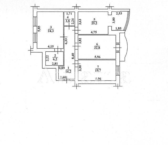 Продается 3-комнатная квартира в новострое на ул. Маразлиевская — 265 000 у.е. (фото №20)