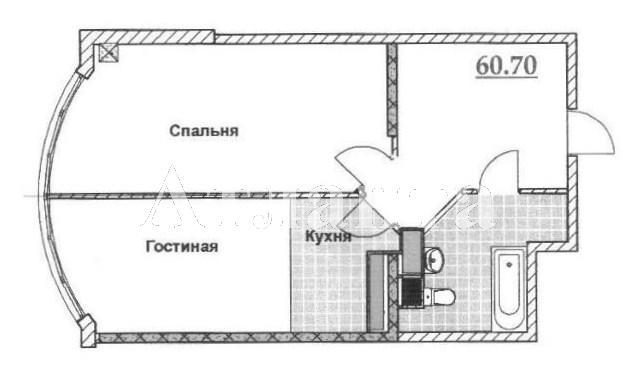 Продается 1-комнатная квартира в новострое на ул. Львовская — 55 000 у.е. (фото №2)