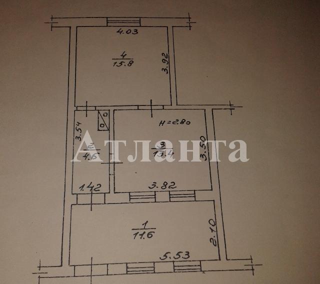 Продается 2-комнатная квартира на ул. Политкаторжан — 19 000 у.е. (фото №11)