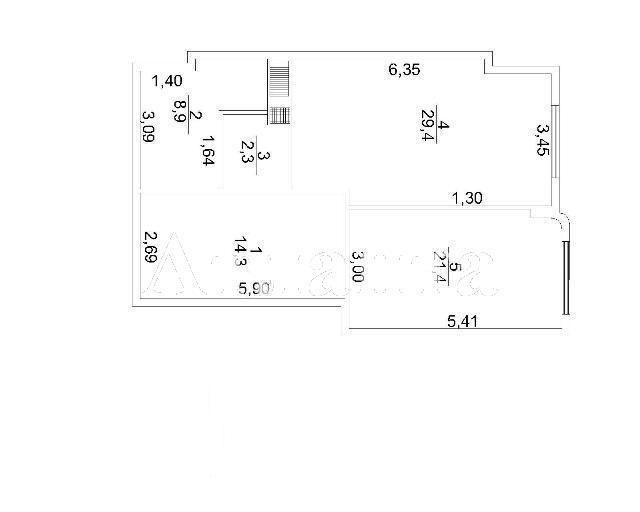 Продается 1-комнатная квартира в новострое на ул. Макаренко — 53 200 у.е. (фото №4)