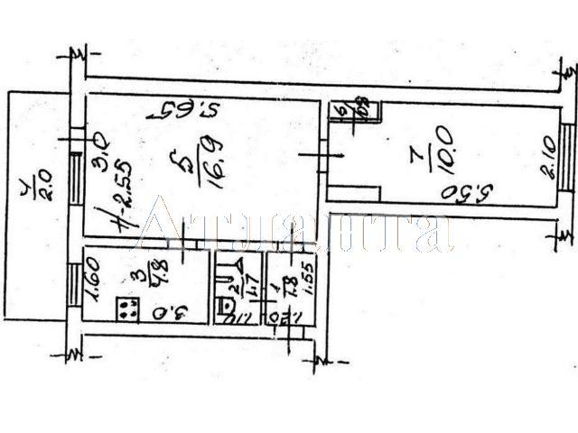 Продается 2-комнатная квартира на ул. Хмельницкого Богдана — 37 500 у.е. (фото №3)