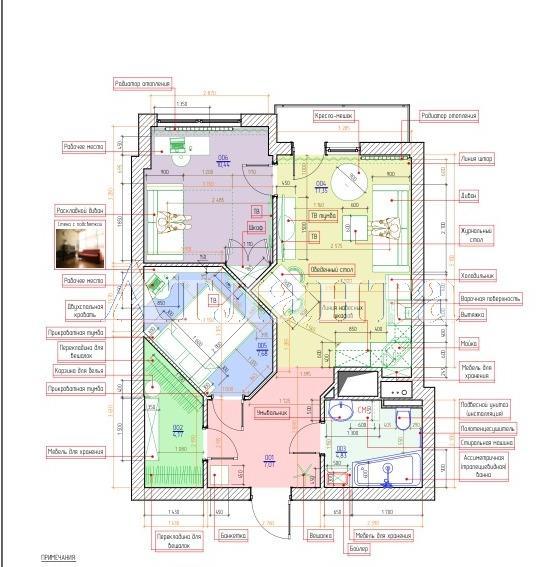 Продается 1-комнатная квартира в новострое на ул. Французский Бул. — 66 000 у.е. (фото №4)
