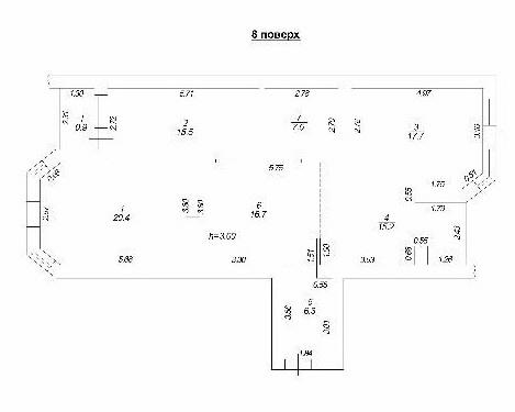 Продается 3-комнатная квартира в новострое на ул. Академика Вильямса — 100 000 у.е. (фото №2)