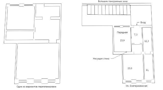 Продается 4-комнатная квартира на ул. Екатерининская — 70 000 у.е. (фото №10)