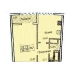 Продается 1-комнатная квартира в новострое на ул. Генуэзская — 39 000 у.е. (фото №2)