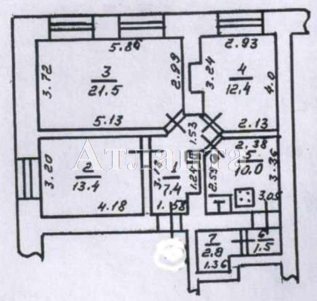 Продается 3-комнатная квартира на ул. Преображенская — 63 000 у.е.