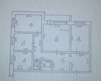 Продается 4-комнатная квартира на ул. Рихтера Святослава — 70 000 у.е.