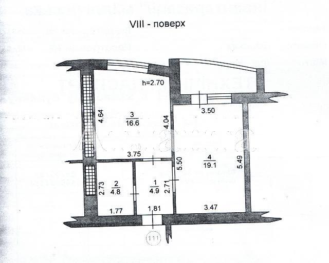 Продается 1-комнатная квартира на ул. Героев Сталинграда — 54 000 у.е. (фото №3)