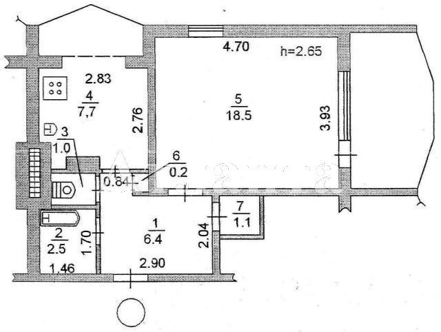 Продается 1-комнатная квартира на ул. Героев Сталинграда — 37 000 у.е. (фото №8)