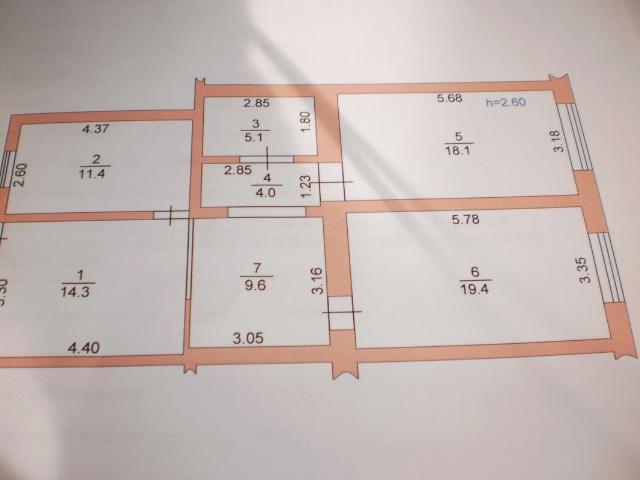 Продается 4-комнатная квартира на ул. Шмидта Лейт. — 45 000 у.е. (фото №9)
