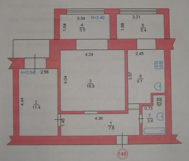 Продается 2-комнатная квартира на ул. Ленина — 70 000 у.е. (фото №15)